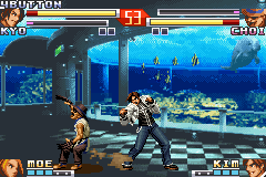 The King of Fighters EX2 - Howling Blood (U)(Mode7) Snapshot
