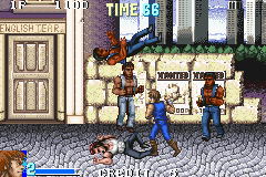 Double Dragon Advance (J)(Rising Sun) Snapshot