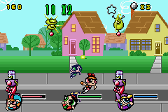 The Powerpuff Girls - Mojo JoJo A-Go-Go (E)(GBA) Snapshot