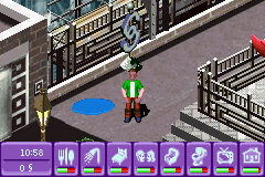 the urbz sims in the city gba