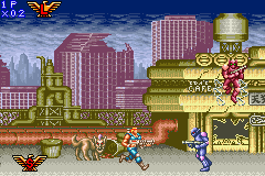 Contra Advance - The Alien Wars Ex (E)(Eternity) Snapshot