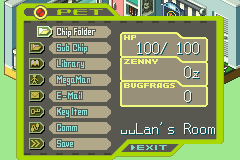 Megaman Battle Network 5 - Team Colonel (U)(Trashman) Snapshot
