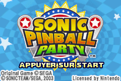 2 in 1 - Sonic Advance & Sonic Pinball Party (E)(Rising Sun) Snapshot
