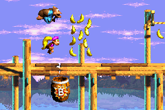 Donkey Kong Country 3 (U)(Independent) Snapshot