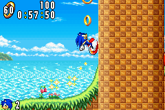 Sonic Advance (J)(Independent) Snapshot