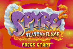 2 in 1 - Spyro - Season of Ice & Spyro - Season of Flame (U)(Independent) Snapshot