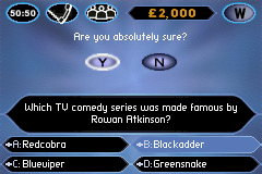 Who Wants to Be a Millionaire - Junior (E)(Independent) Snapshot
