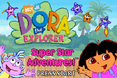 2 in 1 - Dora the Explorer - Pirate Pig's Treasure & Super Star Adventures (U)(Sir VG) Snapshot
