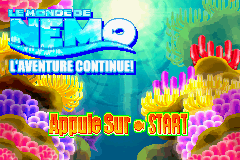 2 in 1 - Finding Nemo & Finding Nemo The Continuing Adventures (E)(Independent) Snapshot