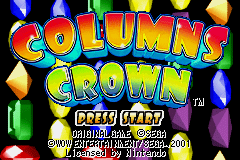 2 in 1 - Sonic Pinball Party & Columns Crown (E)(Independent) Snapshot