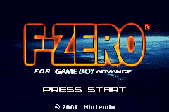 F-Zero (J)(Independent) Title Screen