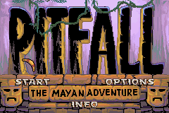 Pitfall - The Mayan Adventure (U)(Mode7) Title Screen