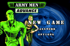 Army Men Advance (U)(Eurasia) Title Screen