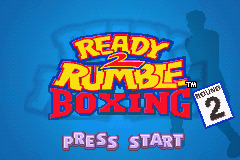 Ready 2 Rumble Boxing - Round 2 (E)(Lightforce) Title Screen