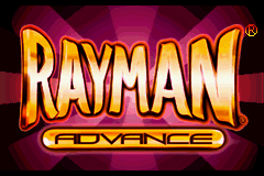 Rayman Advance (U)(Cezar) Title Screen