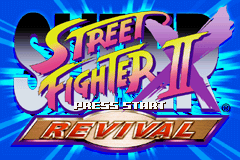 Super Street Fighter II X Revival (J)(Eurasia) Title Screen