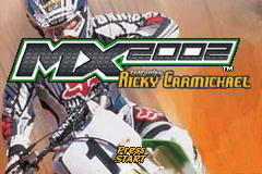 MX 2002 Featuring Ricky Carmichael (U)(Mode7) Title Screen