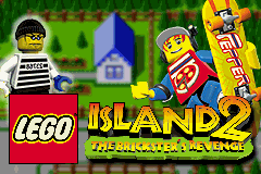 Lego Island 2 - The Brickster's Revenge (U)(Mode7) Title Screen
