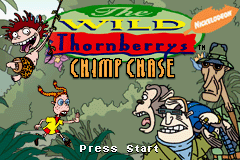The Wild Thornberrys - Chimp Chase (U)(Venom) Title Screen