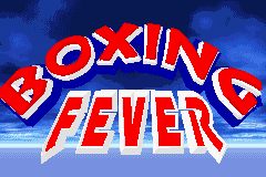 Boxing Fever (U)(Lightforce) Title Screen