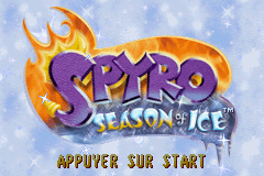 Spyro - Season of Ice (E)(Eurasia) Title Screen
