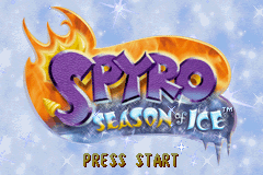 Spyro - Season of Ice (U)(Lightforce) Title Screen