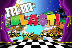 M&M's Blast! (U)(Lightforce) Title Screen