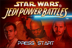 Star Wars - Jedi Power Battles (U)(Eurasia) Title Screen