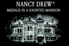 Nancy Drew - Message in a Haunted Mansion (U)(Eurasia) Title Screen