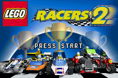 Lego Racers 2 (U)(Venom) Title Screen