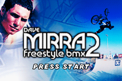 Dave Mirra Freestyle BMX 2 (U)(Venom) Title Screen