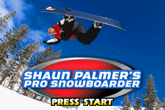 Shaun Palmer's Pro Snowboarder (U)(Menace) Title Screen