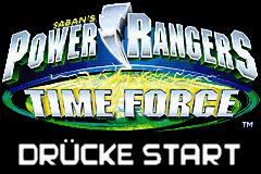 Power Rangers - Time Force (G)(Cezar) Title Screen