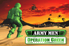 Army Men - Operation Green (U)(Menace) Title Screen