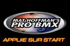 Mat Hoffman's Pro BMX (E)(Rocket) Title Screen