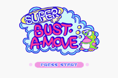Super Bust-A-Move (U)(Independent) Title Screen