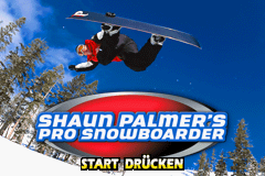 Shaun Palmer's Pro Snowboarder (G)(Lightforce) Title Screen