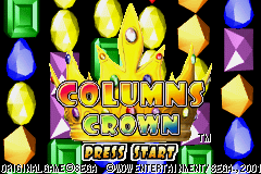 Columns Crown (J)(Cezar) Title Screen