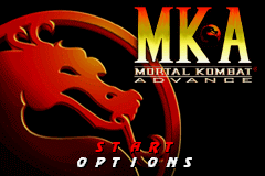Mortal Kombat Advance (U)(Venom) Title Screen
