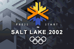Salt Lake 2002 (U)(Mode7) Title Screen