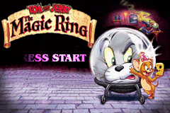 Tom and Jerry - The Magic Ring (E)(Rocket) Title Screen