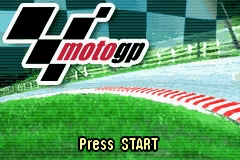 Moto GP (E)(Menace) Title Screen
