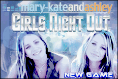 Mary-Kate and Ashley - Girls Night Out (U)(Venom) Title Screen