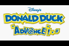 Donald Duck Advance (U)(Independent) Title Screen