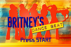 Britney's Dance Beat (U)(Mode7) Title Screen