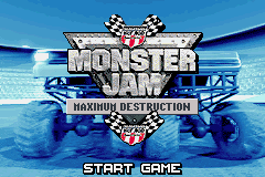 Monster Jam - Maximum Destruction (U)(Venom) Title Screen