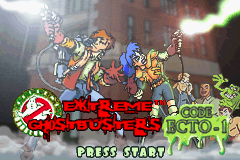 Extreme Ghostbusters - Code Ecto-1 (E)(Eurasia) Title Screen