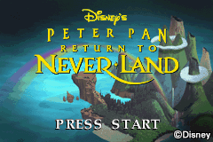 Peter Pan - Return to Neverland (E)(Lightforce) Title Screen