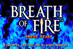 Breath of Fire (E)(Rocket) Title Screen