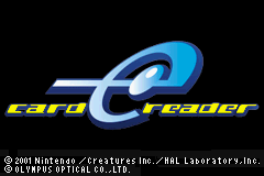 Card e-Reader (J)(Independent) Title Screen